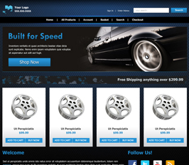 Miva Merchant Automotive Store Template