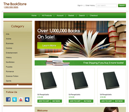 Miva Merchant Bookstore Template