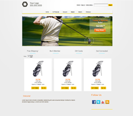 Miva Merchant Golf Store Template