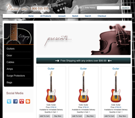 Miva Merchant Music Store Template