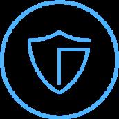Icon of a shield.