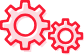 Icon of two gears.