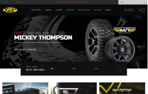 Xtreme Diesel Performance website screenshot. Sized for mobile.