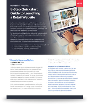 8-Step Quickstart Guide to Launching a Retail Website