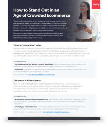 How to Stand Out in an Age of Crowded Ecommerce