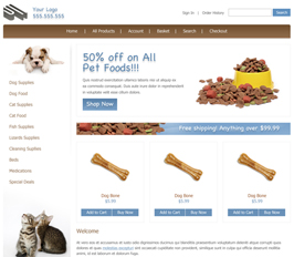 Miva Merchant Pet Store Template
